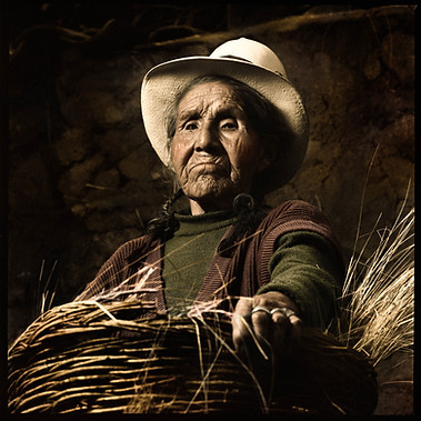 Villager from Taray, Cusco 2007