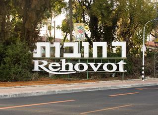Lively meeting in Rehovot