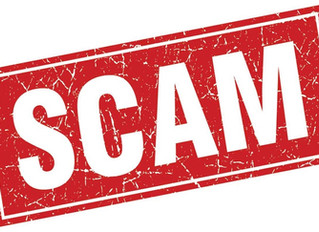 Avoid Scams - email and spam