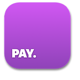 You can pay by using the Pepper-Pay App too!