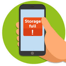 Do you have the Storage Full notification?