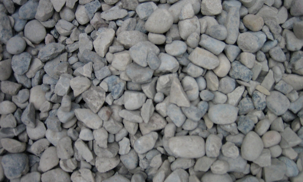 "40mm (1.5"") Drainage Rock- $22.10/tonne ($27.65/cubic yard)"