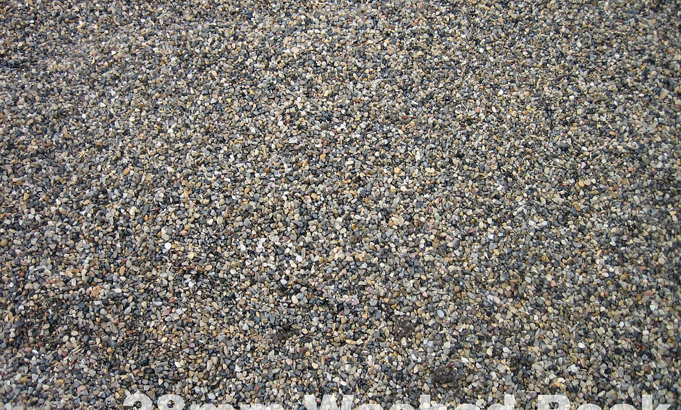 28mm Washed Rock -$42.45/tonne ($48.90/cubic yard)