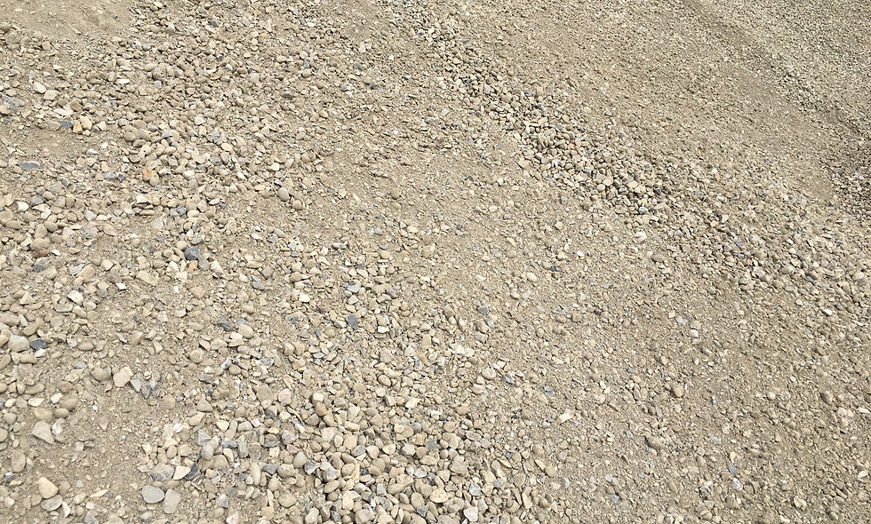"20mm (3/4"") Crushed Gravel-$20.10/tonne ($25.60/cubic yard)"