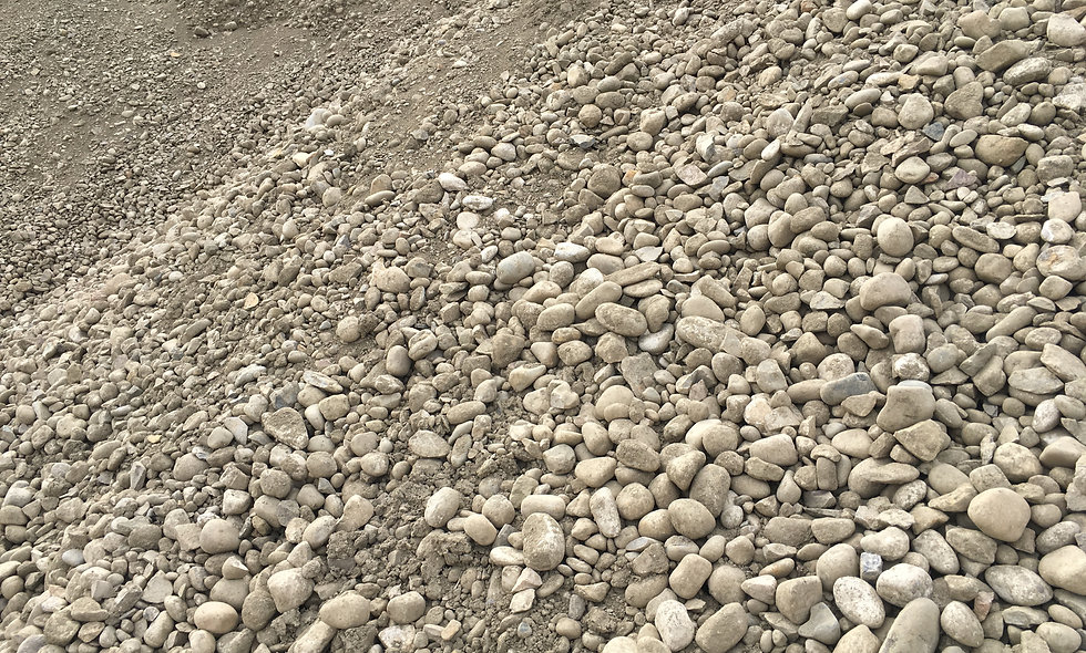 "75mm (3"") Crushed Gravel - $19.30/tonne ($26.40/cubic yard)"