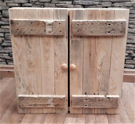 Dartboard cupboard