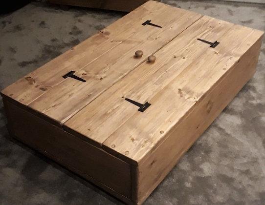 Large storage coffee table