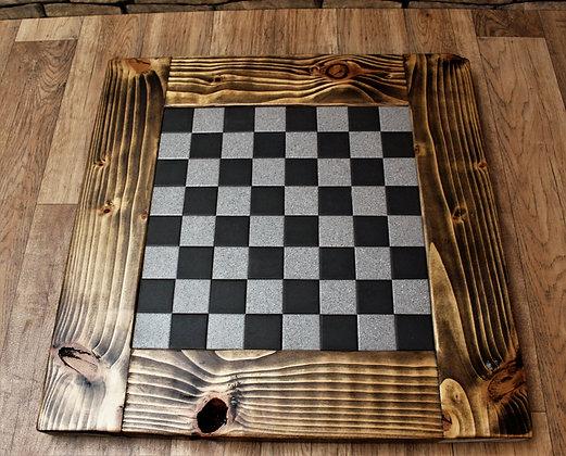 Rustic Chess board