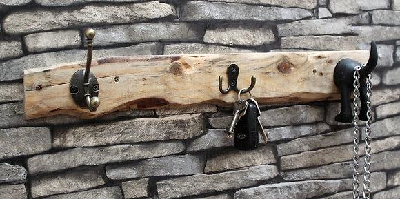 Driftwood coat/key/dog hooks