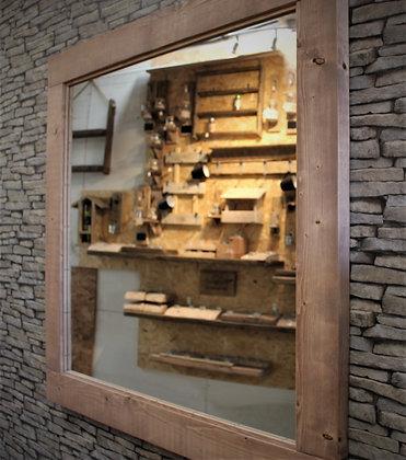 Large rustic mirror  Code MF/C2/06