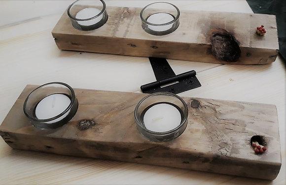 2 Tealight block
