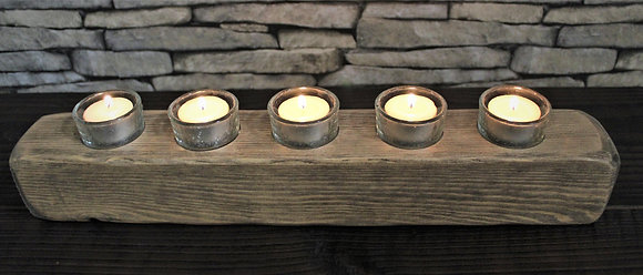 5 candle tealight block