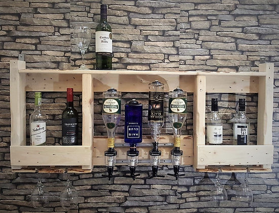 Wall bar with optics