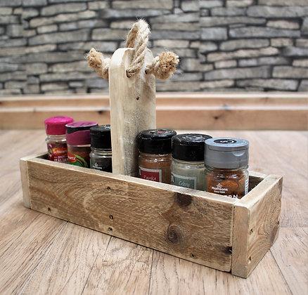 Spice rack holder