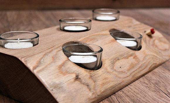 Tealight slab/holder