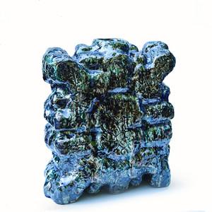 Organic ceramic vessel