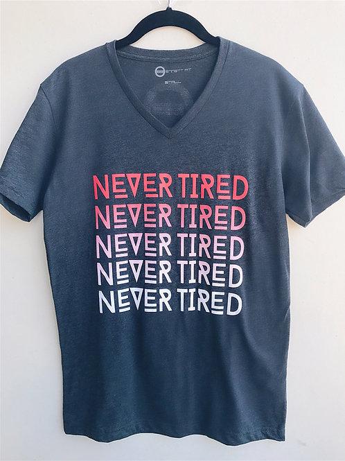 Never Tired V-Neck Tee