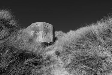 The bunker in the dunes