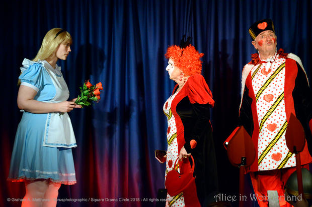 Alice confronting the Queen