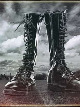 Mans Footprint on the Land