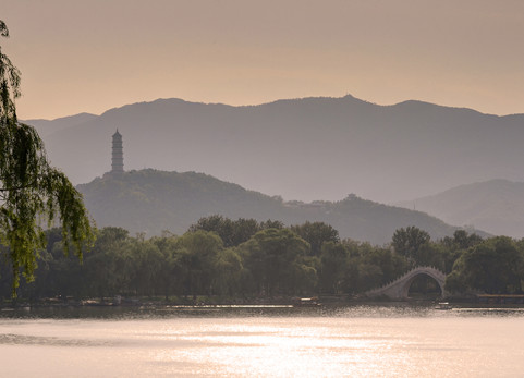 Lake view, Emperors summer palace