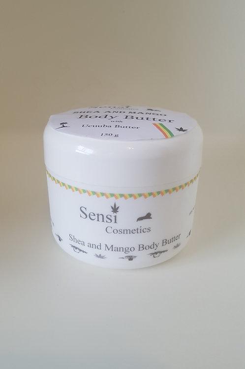 Shea and Mango Butter Body Cream