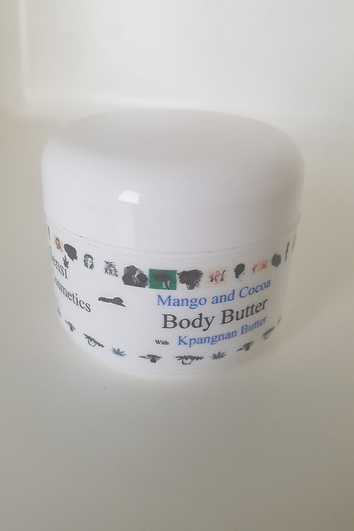 Mango and Cocoa Body Butter