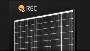 REC Solar Panels - high quality panels, with an extended warranty.