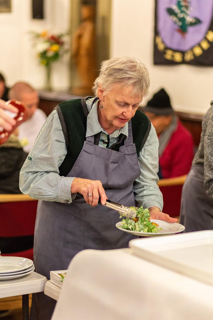 Soul Food volunteer/guest