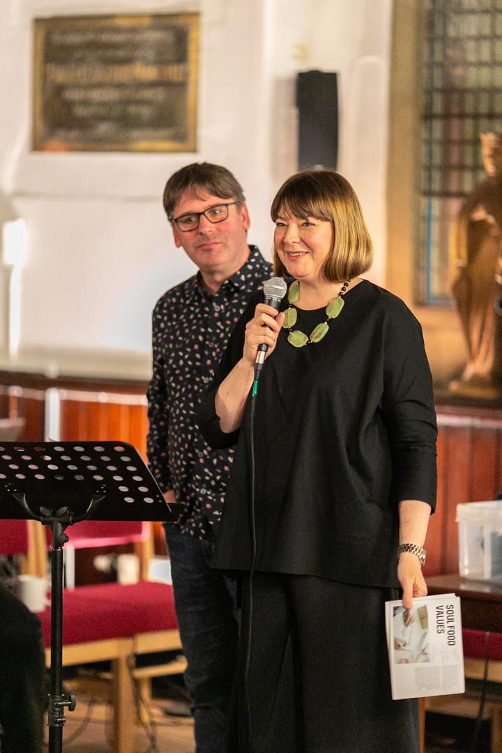 Richard and Jenny Cornfield