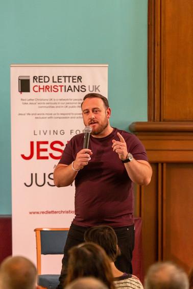 Mick Kane, Red Letter Christians UK