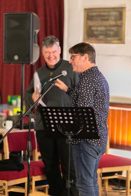 Ash Barker and Richard Cornfield
