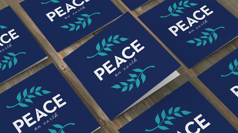 Soul Food peace on earth card design