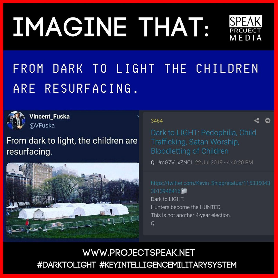 From Dark to Light the Childgren are Res