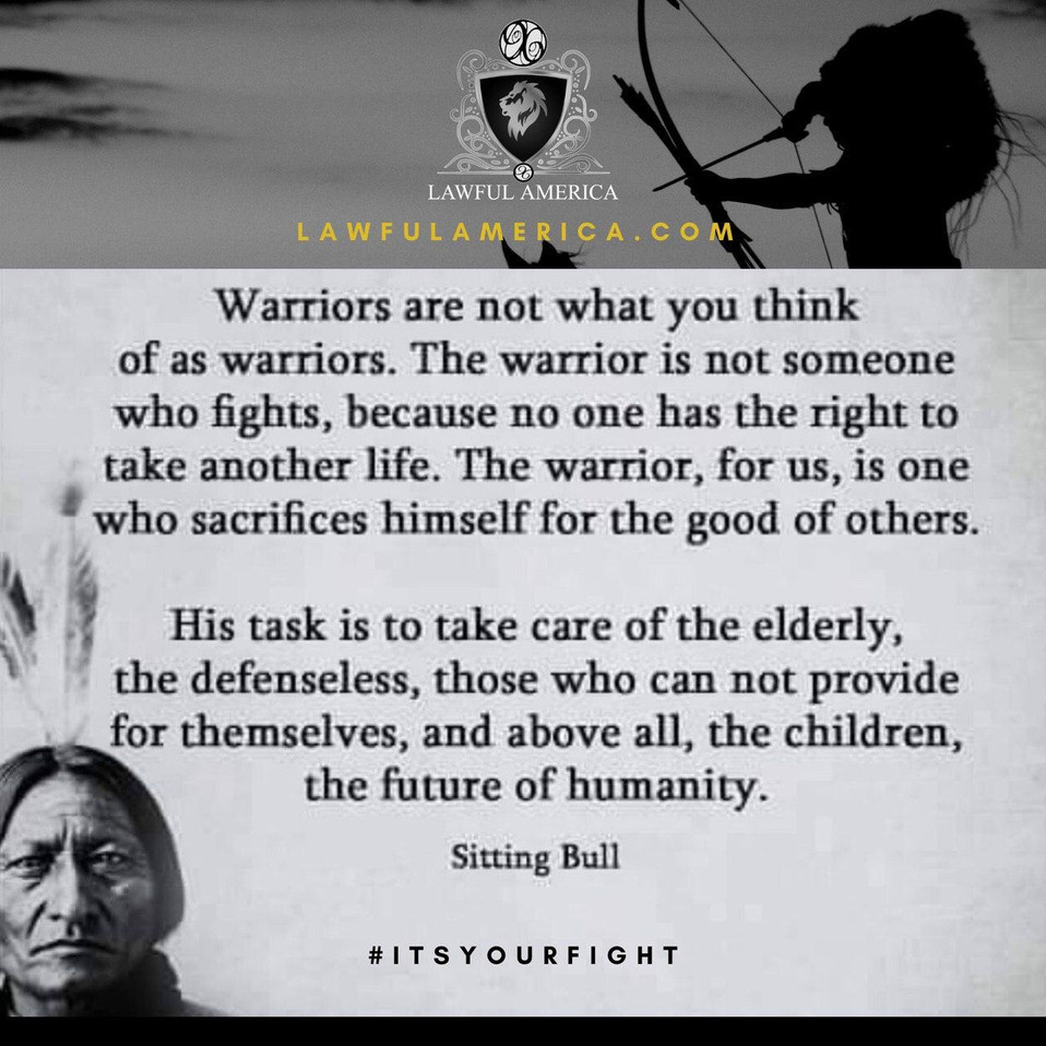 #ITSYOURFIGHT - Warriors are not what yo