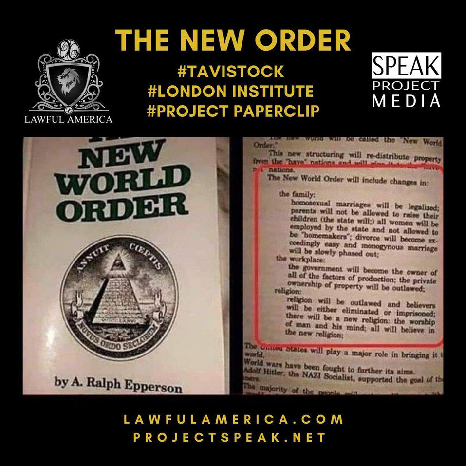 DID YOU KNOW - THE NEW WORLD ORDER by Ra