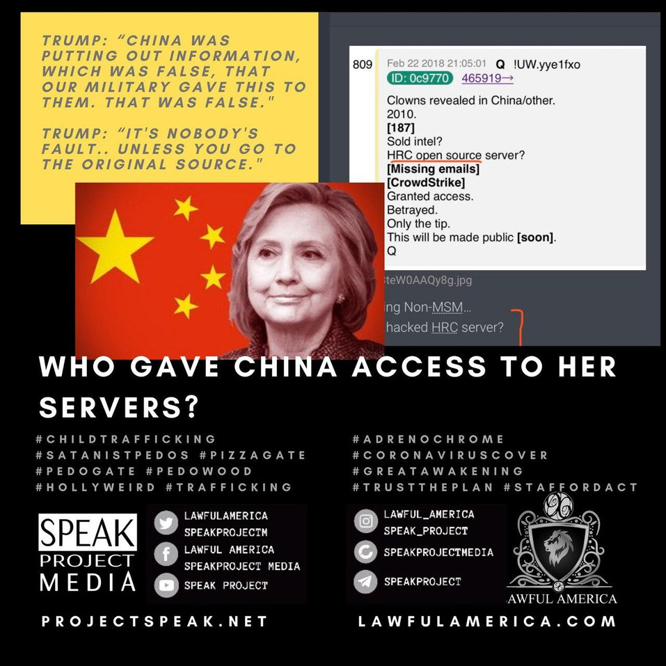 Who Gave China Access To Her Servers - H