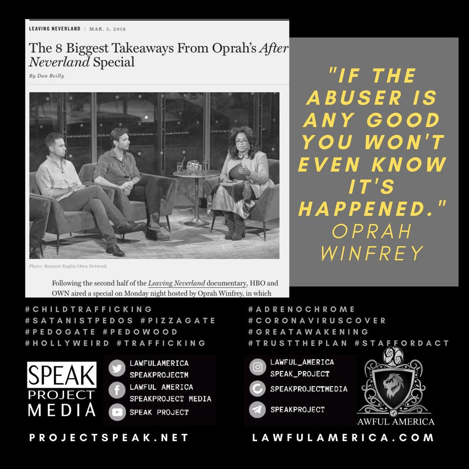 Oprah Quote - If the Abuser is Any Good,
