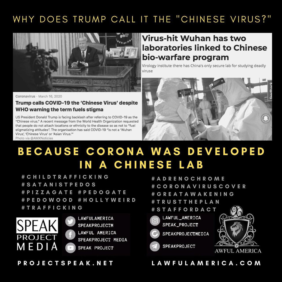 Why Does Trump Call it the Chinese Virus
