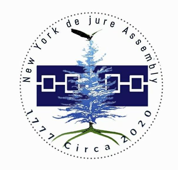 White LOGO - New York de jure Assembly.j