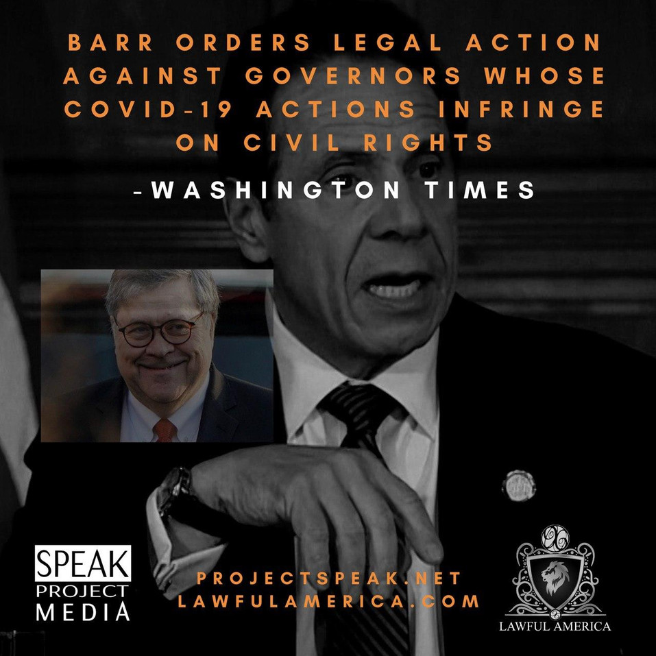 DID YOU KNOW - AG Barr Orders Legal Acti