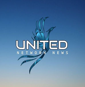 UNITED NETWORK NEWS - Blue Background -