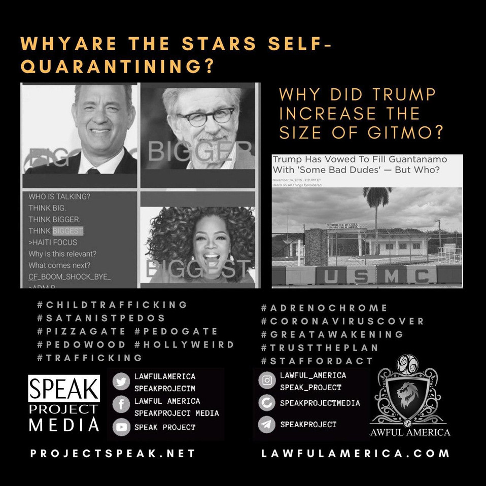 Why Are The Stars Self-Quarantining - Wh