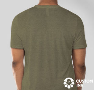 LF T-shirt Olive - back_medium_extended.