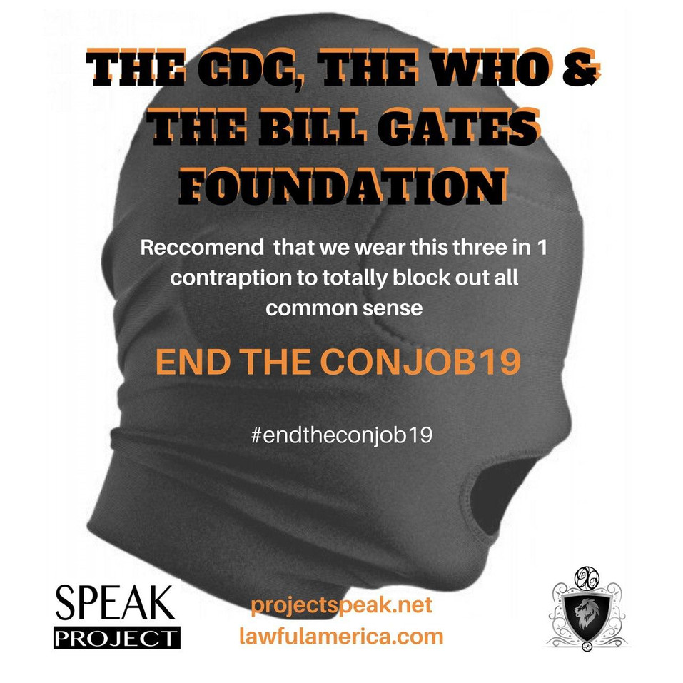 The CDC, WHO, & BILL GATES FOUNDATION -