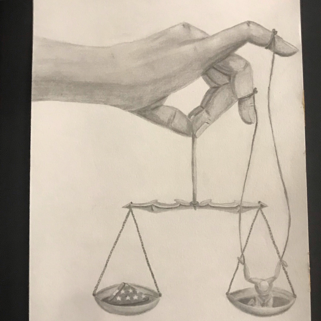 Justice is a Puppet Loosely Strung