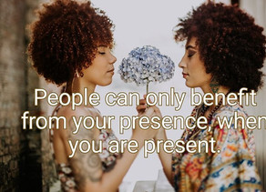 Personal Wellness: The Power of Being Present