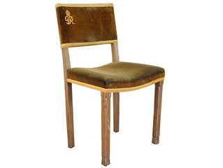 Royal trappings: coronation chairs of George VI and Elizabeth II