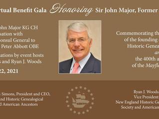 Honoring Sir John Major