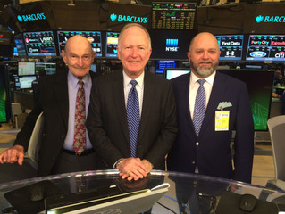 NEHGS trustee Bill Griffeth named co-anchor of Nightly Business Report on PBS